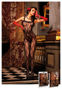 Lace Bodystocking Black (disc)