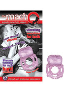 The Macho Erection Keeper 7 Function Vibrating Cockring...