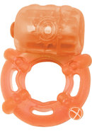 Climax Juicy Rings Cock Ring Waterproof Orange