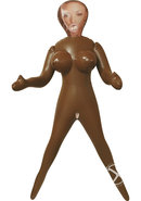 Vivid Raw Brown Sugar Inflatable Love Doll